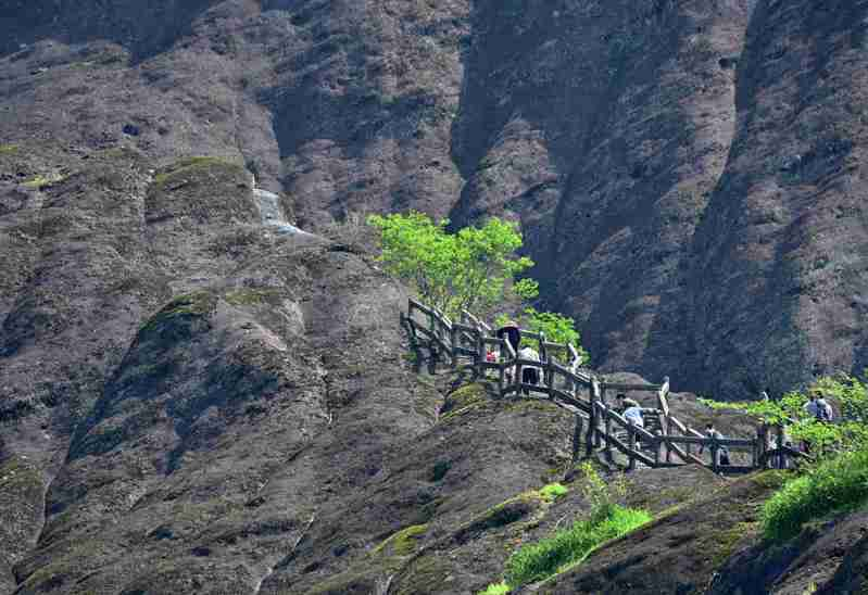 綠水青山就是金山銀山,圖為武夷山風光旖旎的景區。(新華社)