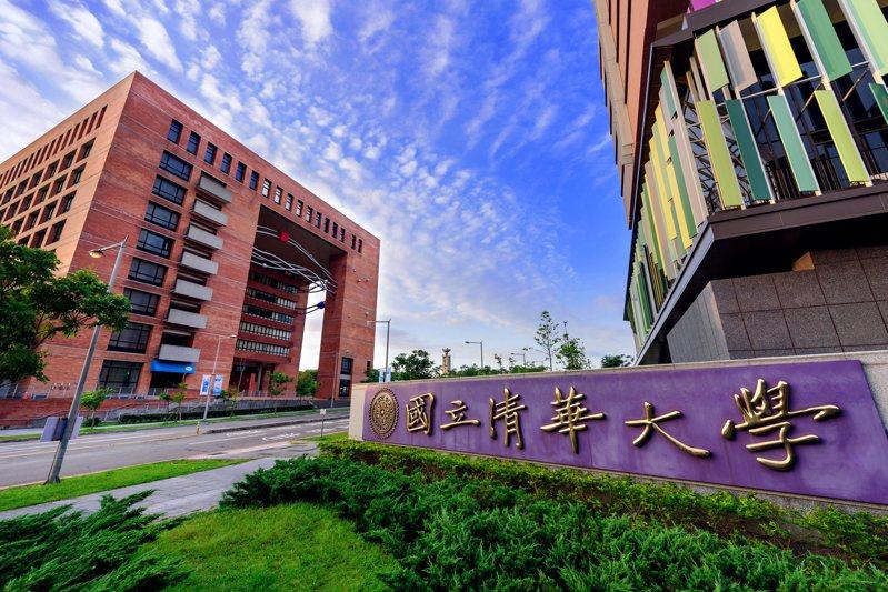 清華大學前年徵得六公頃公墓地,全校面積增為120公頃,目前的南校區寶山路校門(圖)將再向外延伸。圖/清華大學提供