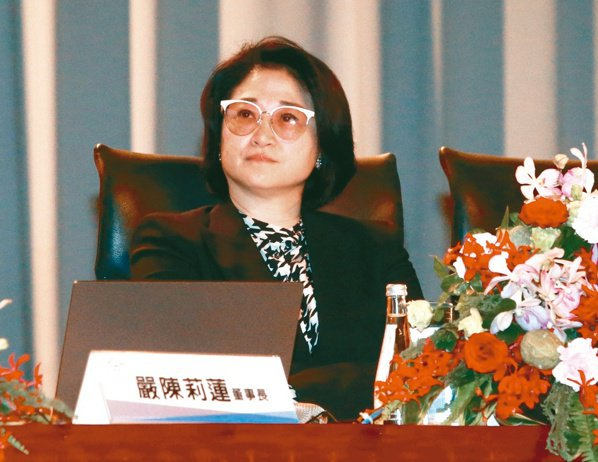 裕隆集團董事長嚴陳莉蓮(本報系資料庫)