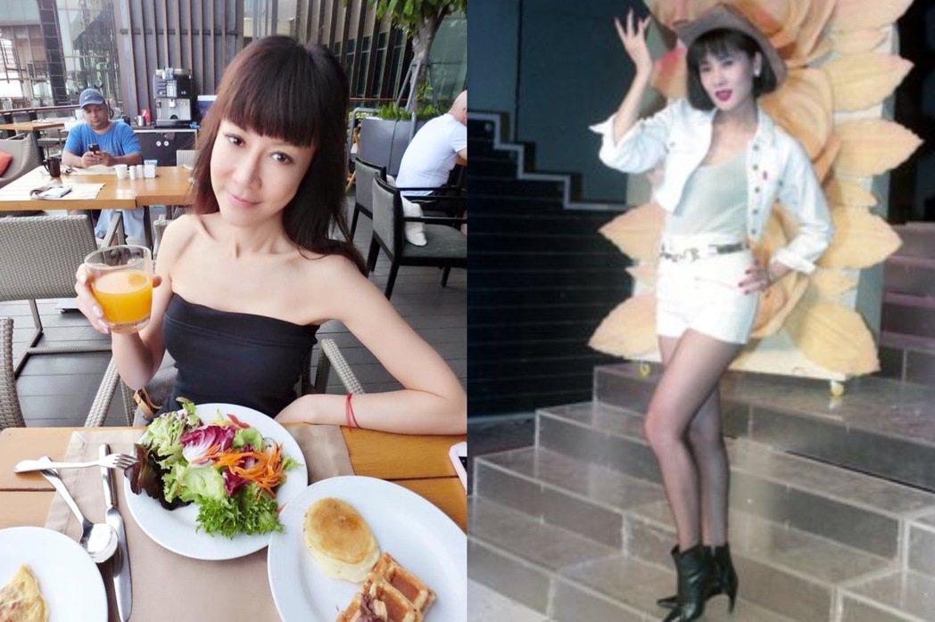 羅霈穎(左)、于楓是好姐妹。圖/摘自臉書、本報資料照片