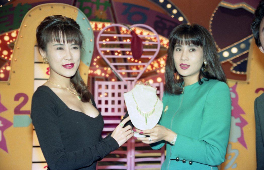 羅霈穎(左)、于楓是好姐妹。 圖/聯合報系資料照