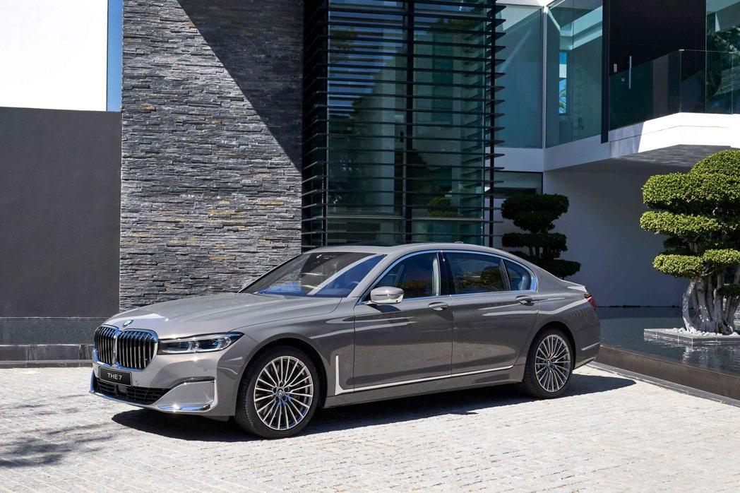 全新BMW 7系列Exclusive Edition層峰旗艦版以五感體驗的極致、...