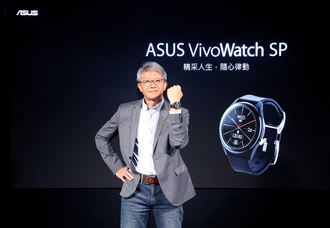 華碩全球副總裁謝明傑為新品站台。 華碩/提供