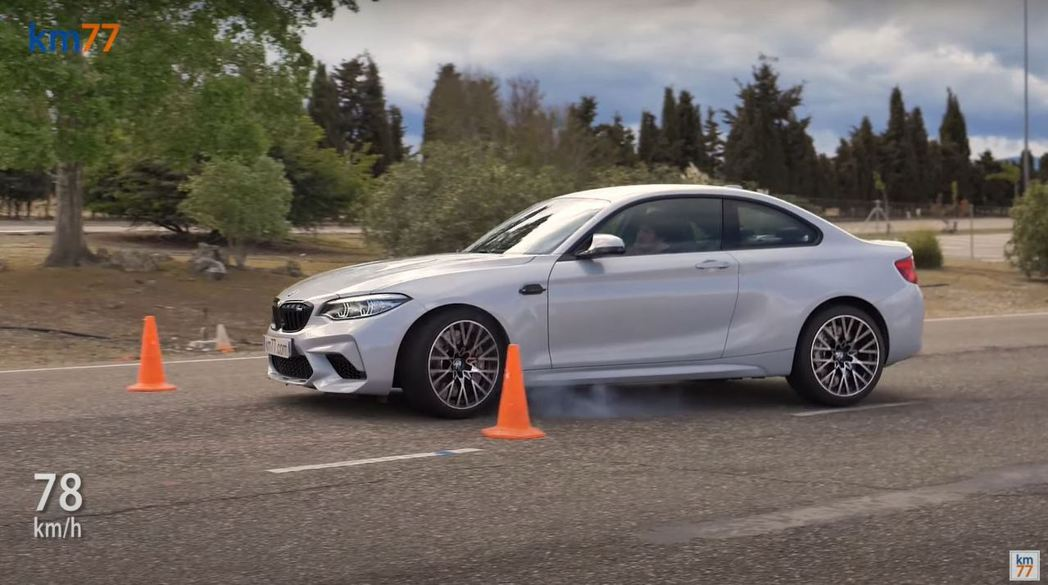 BMW M2 Competition的狀況也差不多,僅以78km/h通過測試。 ...