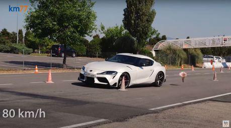 影/國內外好評不斷的Toyota Supra 麋鹿測試成績令人訝異!