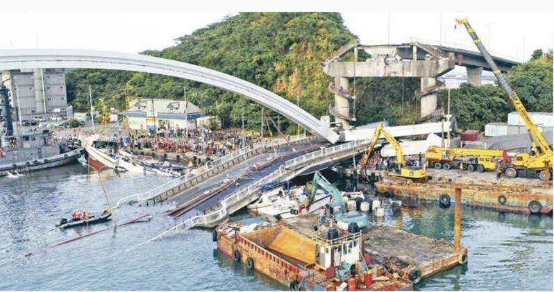 南方澳斷橋意外震驚社會。圖/聯合報系資料照片
