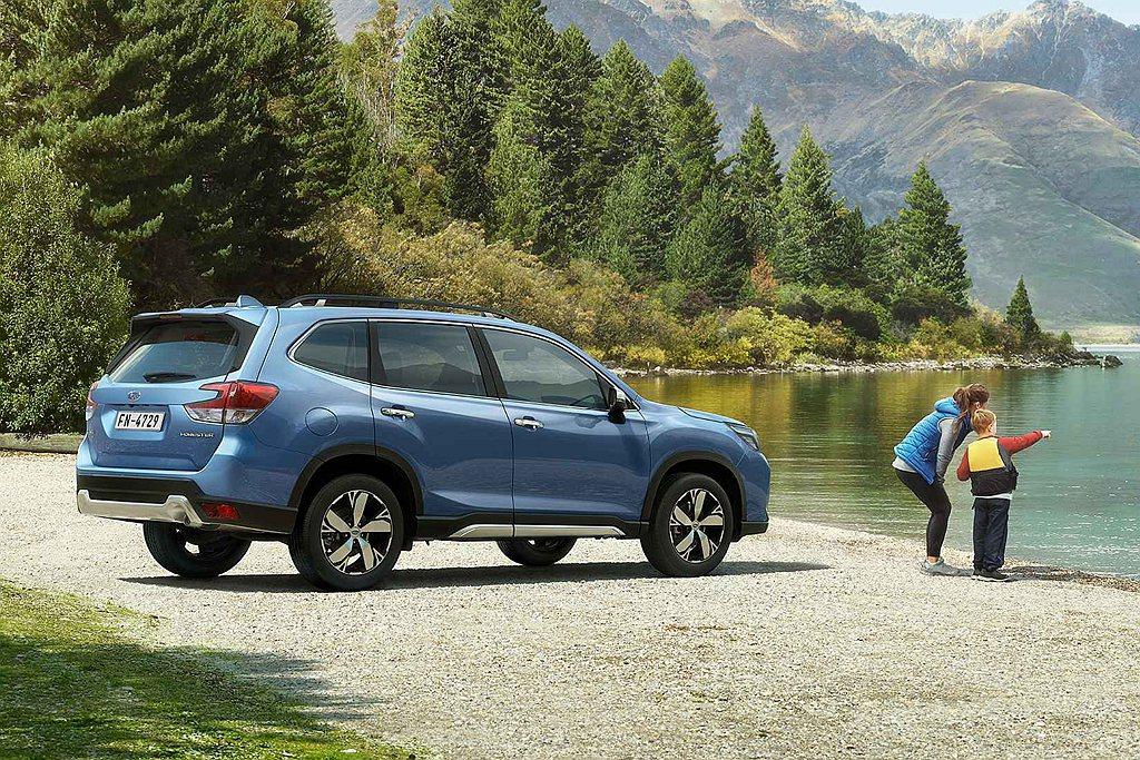 Subaru透過獨步車壇的四大核心科技-「BOXER水平對臥引擎」、「SAWD對...