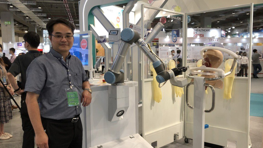 圖為鈦隼生物科技創辦人兼執行長陳階曉。謝艾莉/攝影
