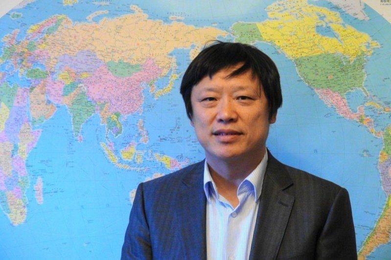 環球時報總編輯胡錫進。報系資料照片/特派記者陳言喬攝影
