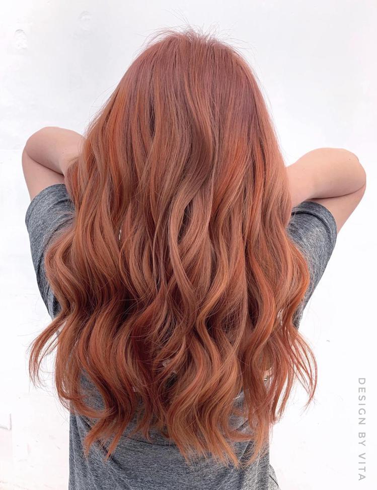 髮型創作/尤拿髮藝青海館 / Vita,圖/StyleMap美配提供