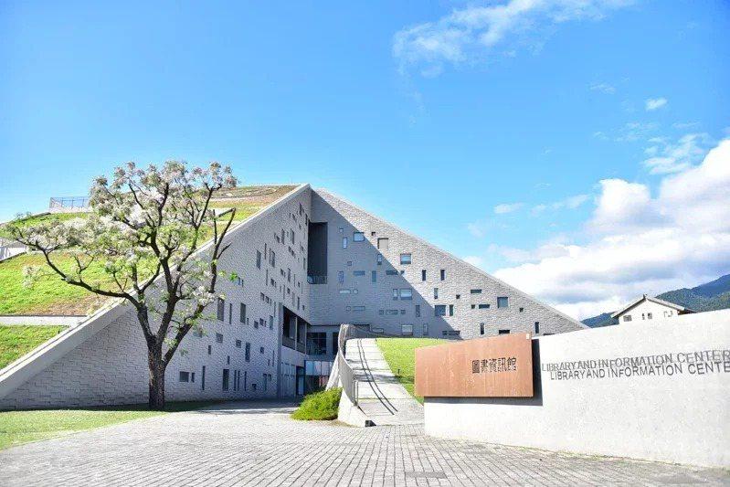 台東大學2014年將校本部移往知本校區。圖為知本校區圖書館。圖/台東大學提供