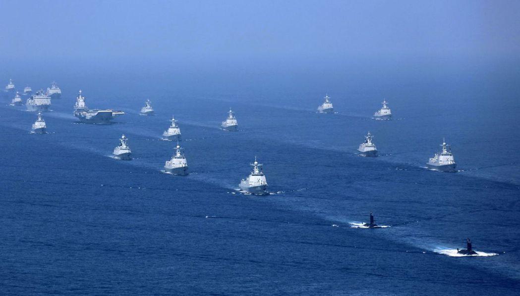 APS資產管理公司創辦人暨投資總監王光輝認為,南海將是美中軍事衝突的導火線。美聯...