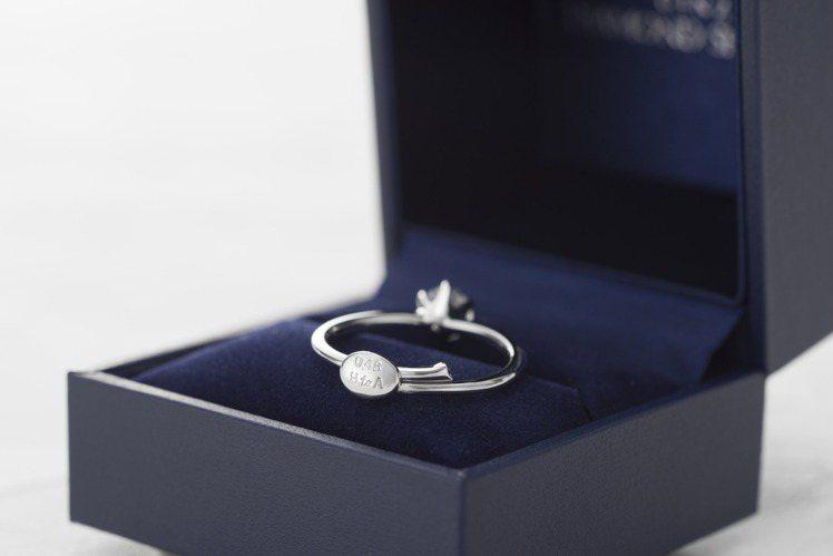 銀座白石求婚神器「微笑求婚戒 Smile propose ring 」可調戒圍特...