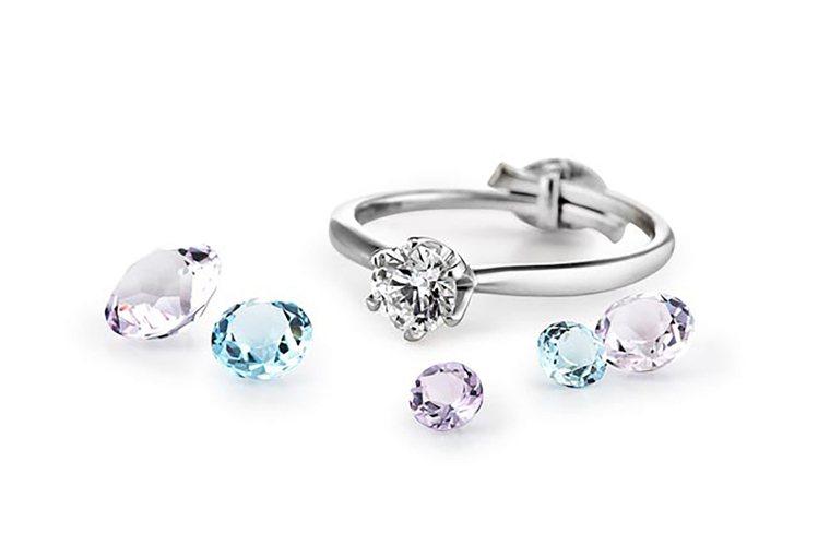 銀座白石求婚神器「微笑求婚戒 Smile propose ring 」 三色紀念...