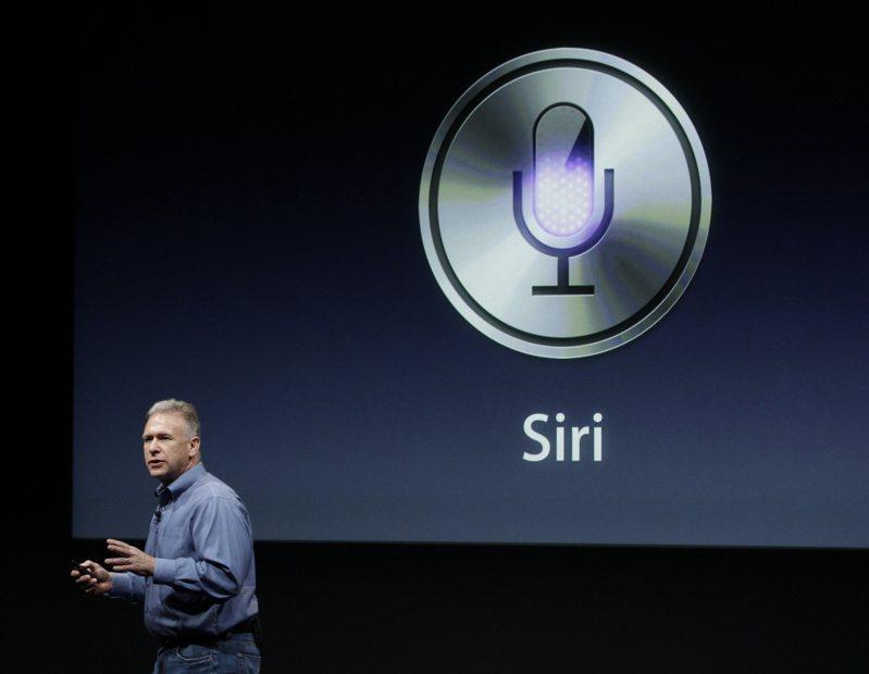 蘋果Siri服務被上海智臻起訴侵權。美聯社