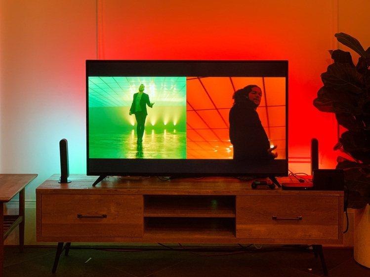 Hue Play和Hue HDMI影音燈光同步器讓家中娛樂活動體驗升級,讓燈光色...