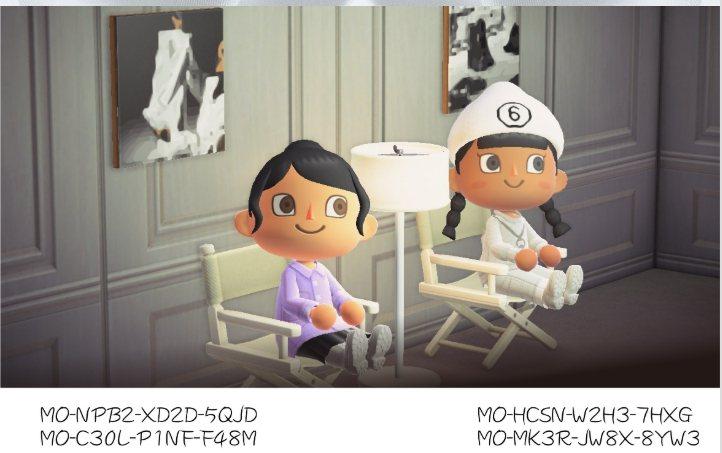 MM6與動物森友會合作,服裝編碼2。圖/微風精品提供