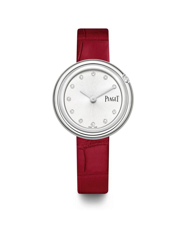 PIAGET,Possession系列精鋼腕表,鑲嵌12顆圓形明亮式切割鑽石,總...