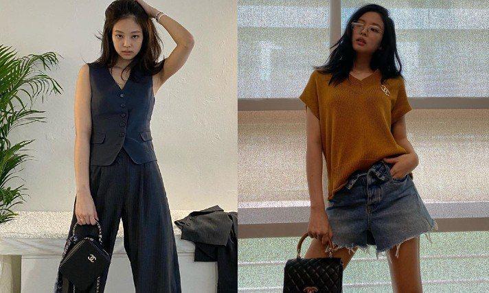 韓國女團BLACKPINK的Jennie身為香奈兒的品牌大使,最近在IG上曬出的...