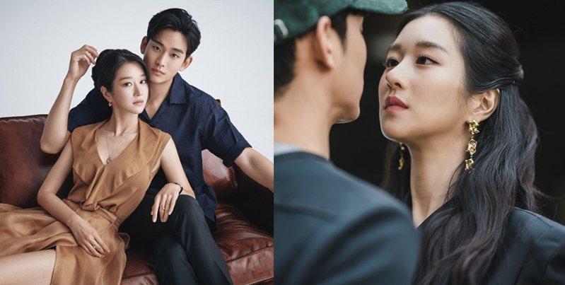 金秀賢在《雖然是精神病但沒關係》劇中,與徐睿知大談戀愛。圖/品牌提供