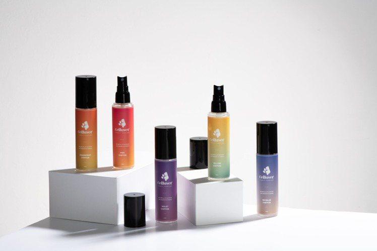 Celluver淨化衣物香氛噴霧在官網開放預購/230元。圖/品牌提供