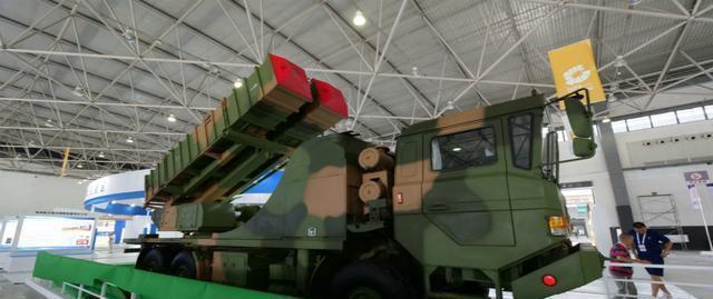 圖為去年7月在貴陽工博會中亮相的FK-3防空飛彈系統。(取自貴陽日報)