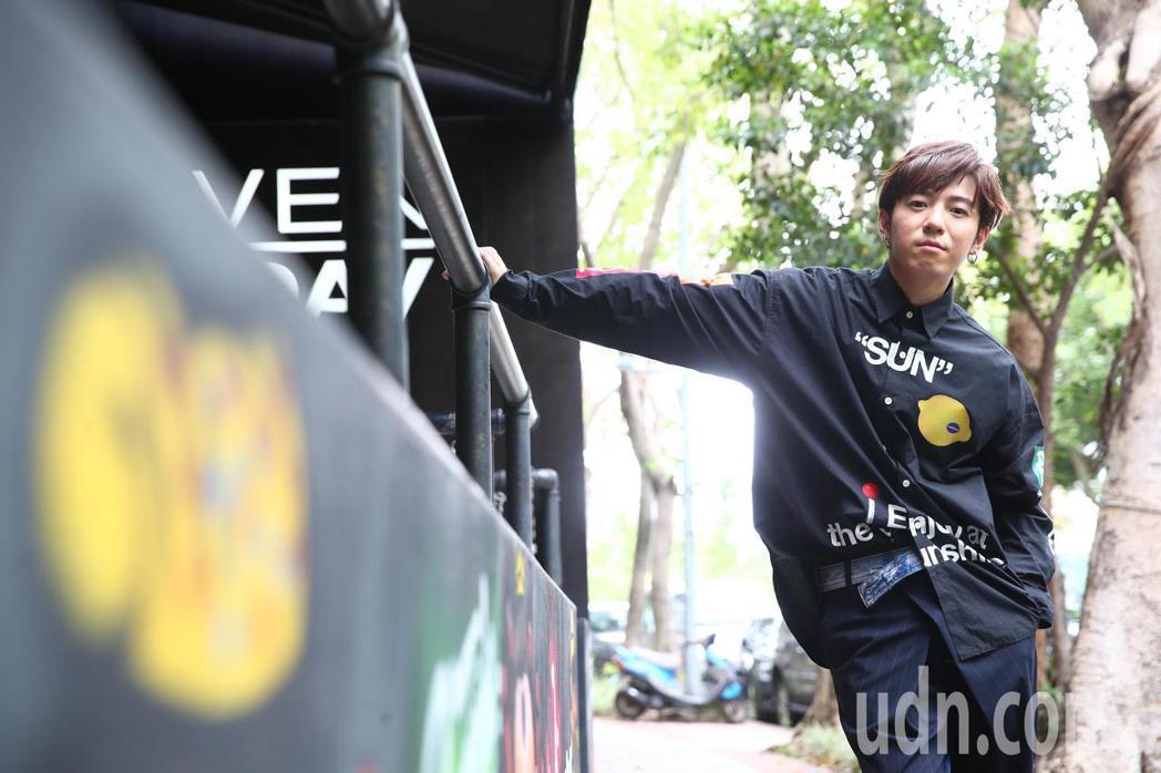 GJ蔣卓嘉今天舉辦新單曲〈禁未來〉記者會。記者葉信菉/攝影
