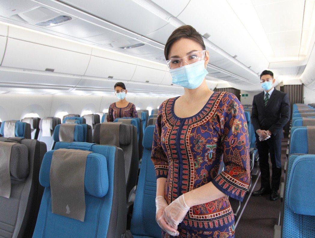 新加坡航空宣布,將於9月恢復一週三班往返新加坡與台北之間的飛航服務。 圖/新加坡...
