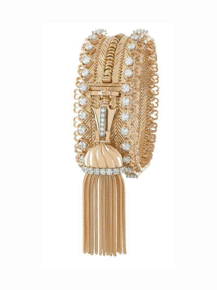 梵克雅寶最著名的ZIP項鍊誕生於1951年,作品Zip Antique項鍊可以拉...