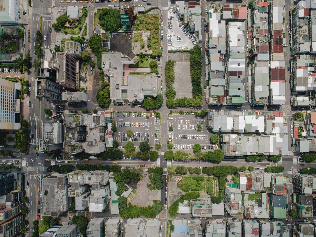 信義兒福B1-2空拍圖。照片/國家住都中心提供