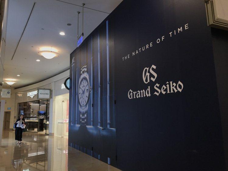 Grand Seiko全台首間旗艦店將於8/15進駐台北101一樓。記者江佩君/...