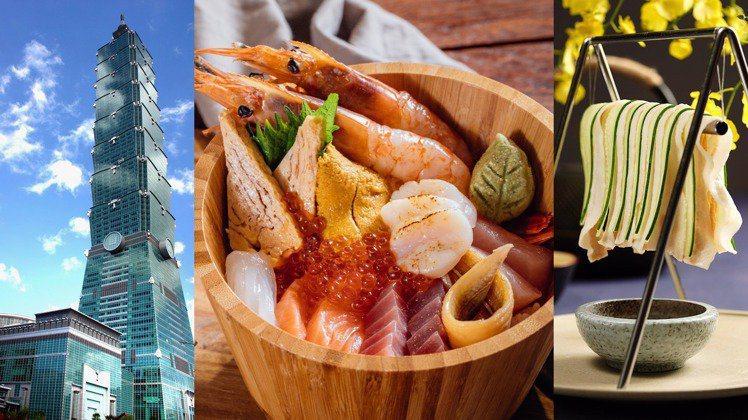台北101購物中心自7月至9月,陸續增加6家新餐飲美食。
