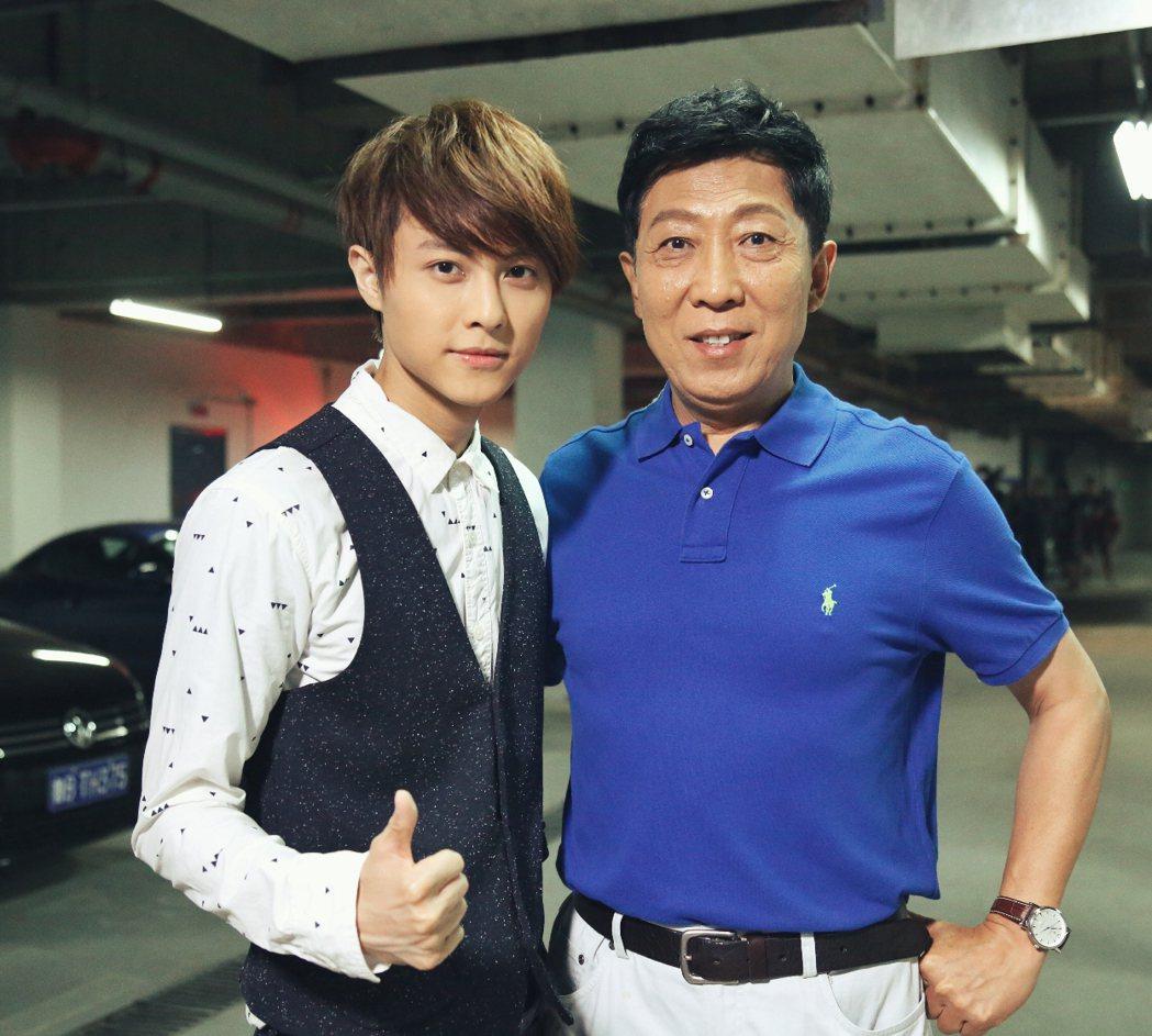 王子和韓童生老師合作學到很多。圖/LiTV  、喜鵲娛樂提供