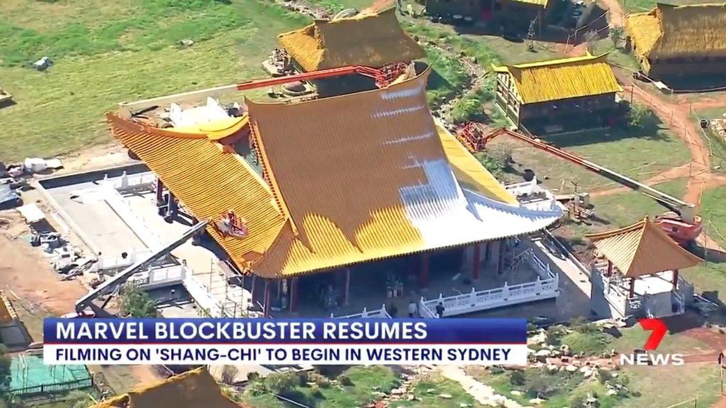 澳洲新聞台拍到「上氣」的場景。圖/摘自Facebook