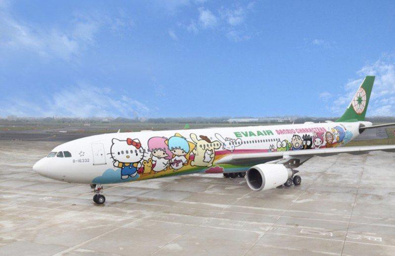 詢問度破表的長榮航空類出國專案航班。圖/長榮航空提供