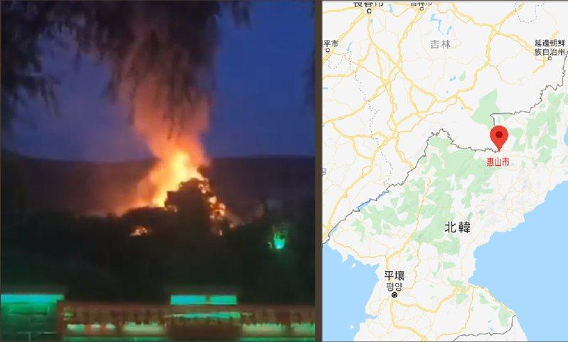 擷自每日北韓影片及google map