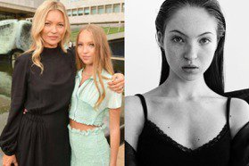 跟超模媽媽完全不同風格!凱特摩絲17歲女兒狂拍大片 與大咖合作毫不怯場