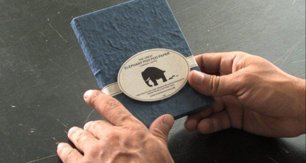 以大象糞便造紙!泰國「PooPooPaper」製環保筆記本,銷售市場擴及歐美、東...
