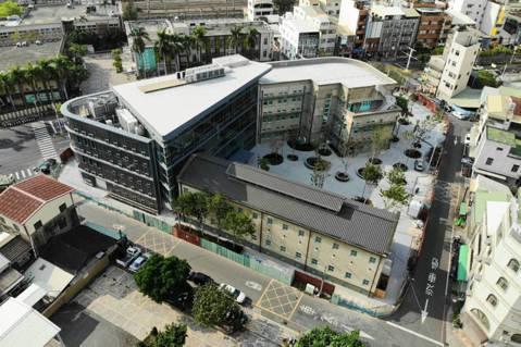 全新的嘉義市立美術館,預計於2020年9月開幕。 圖/黃明威建築事務所提供