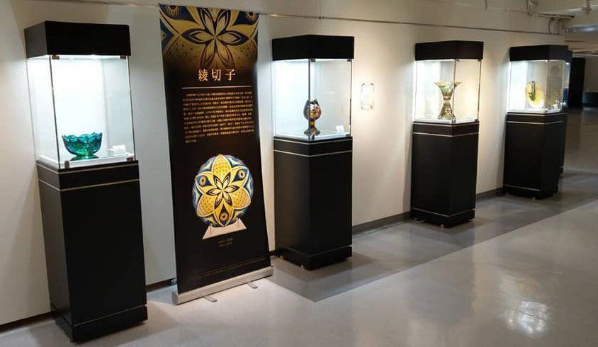 國際玻璃工藝大師黑木國昭即日起至8月11日,在高雄市文化中心舉辦在台連續展出第2...