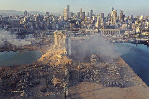 黎巴嫩心碎城市:貝魯特大爆炸後的悲劇傷痕