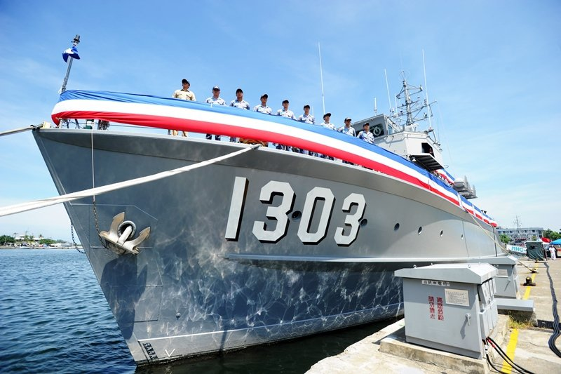 MWV50型獵雷艦,永豐級獵雷艦。 圖/聯合報系資料照