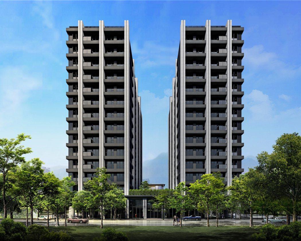 「着東騰」主力產品規劃178戶24~36坪二至三房格局。 業者/提供