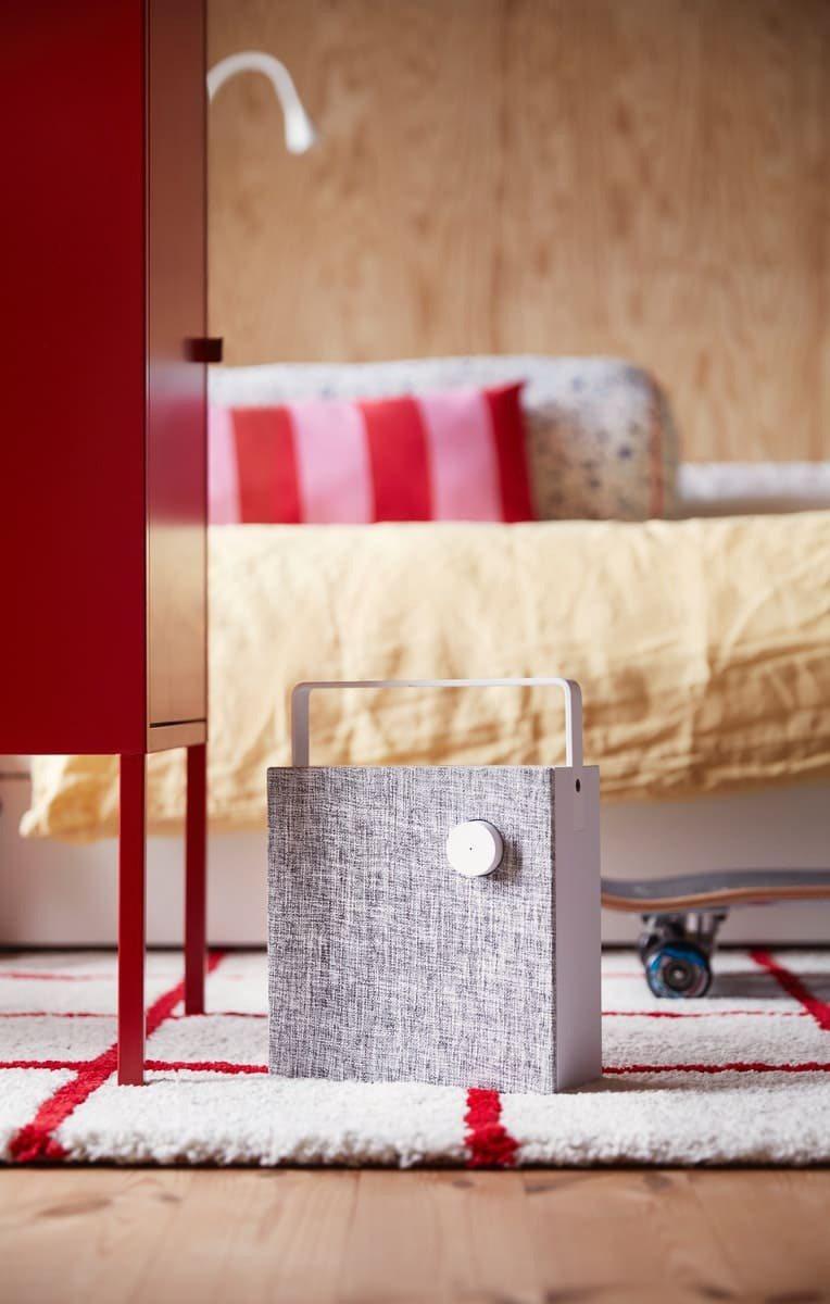 IKEA ENEBY藍芽喇叭,擁有簡約質感外觀、價格實惠且輕巧好攜帶,能連接手機...