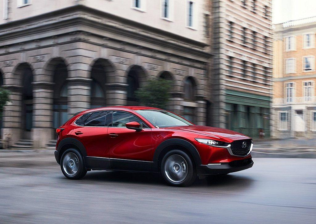 Mazda CX-30全車系標配包含全速域主動車距控制巡航系統(MRCC)、智慧...