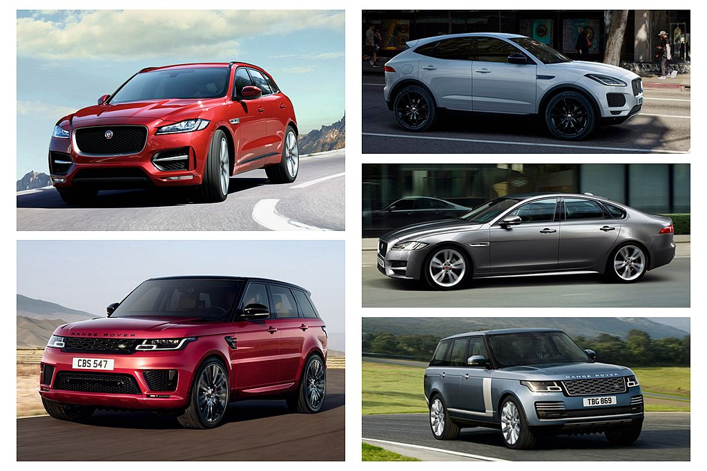 8月份針對旗下熱銷車款升級購車優惠,包含Jaguar XF、E-PACE、F-P...