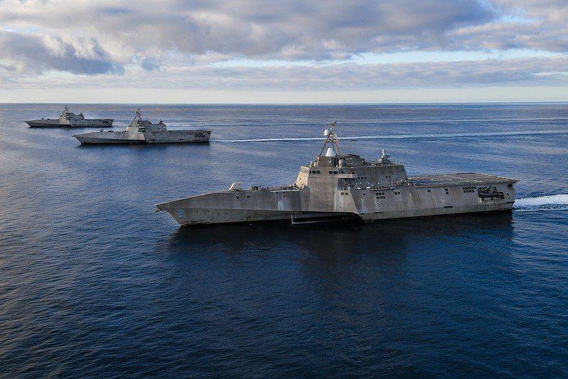 美國海軍的濱海戰鬥艦(LCS)。 圖/美國海軍