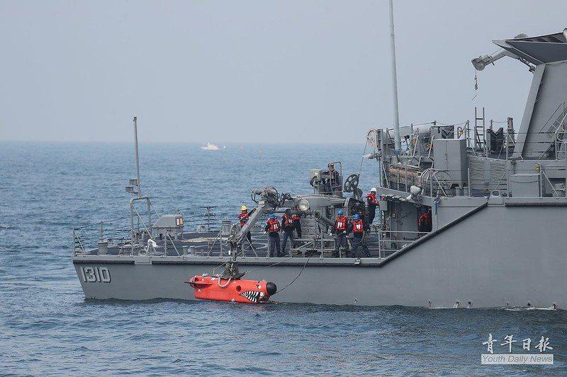 海軍現役永靖級獵雷艦,原屬美軍鶚級獵雷艦。 圖/青年日報