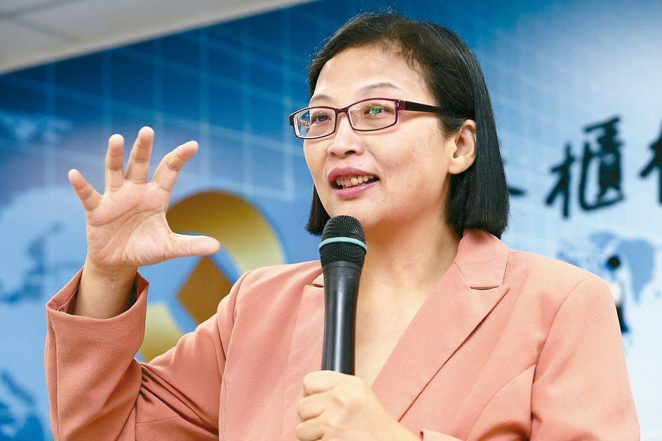 環球晶董事長徐秀蘭。本報資料照片