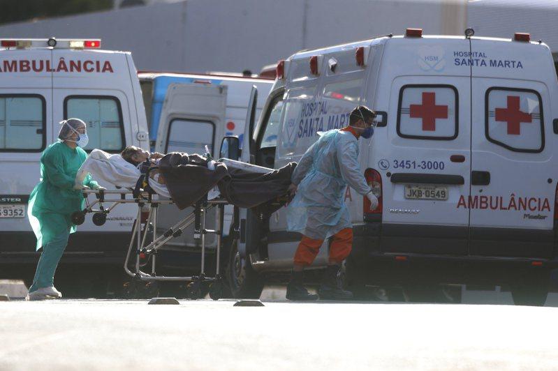 巴西確診病例新增5萬1603例,病死人數增加1154人。 新華社